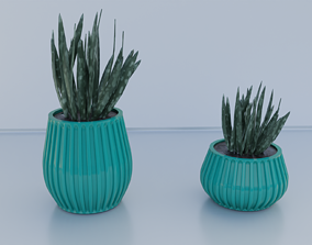 3D print model pot planter holder 09