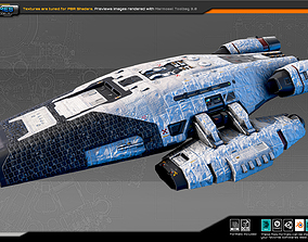 SF Colony Cruiser CF5 3D asset