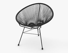Acapulco Chair 3D vintage