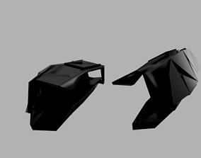 Forearm plate Armour version 2 3D model