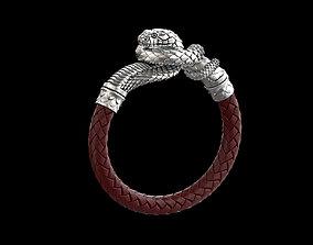 Cobra bracelet 3D printable model