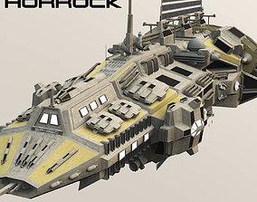 3D model CDF Horrock Support Frigate
