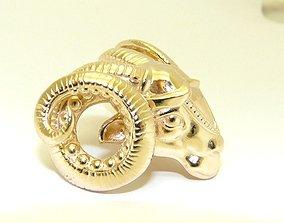 Aries zodiac 3D print model scorpio