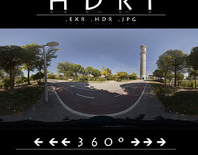 HDR 6 PARK BIKE LANE 3D model