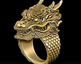 dragon ring legend 3D printable model
