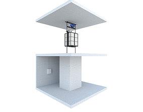 Industrial lift - Portal LC Partner 3 3D model