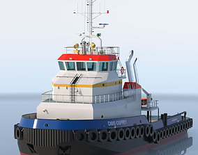 Shoalbuster Tug DMS Osprey 3D tug