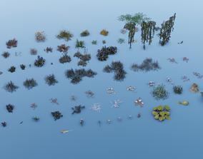3D asset Vegetation - Pack 2