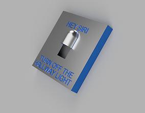 Uk Light switch cover Hallway 3D printable model