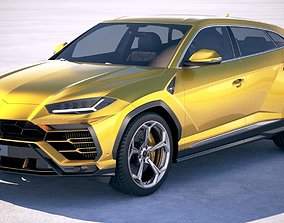 Lamborghini Urus 2019 3D