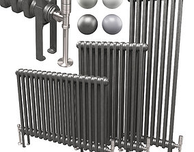 3D model Butler and Rose 2 Column Horizontal Radiator