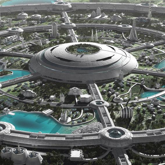 Futuristic Paradise