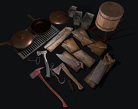 Butcher Set 2 0 3D asset