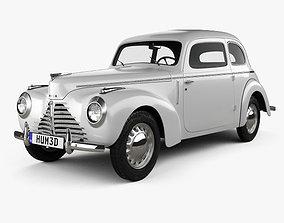 Skoda 1101 Type 938 Tudor 1946 3D
