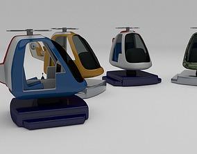 Kiddie Ride Pack 3D print model