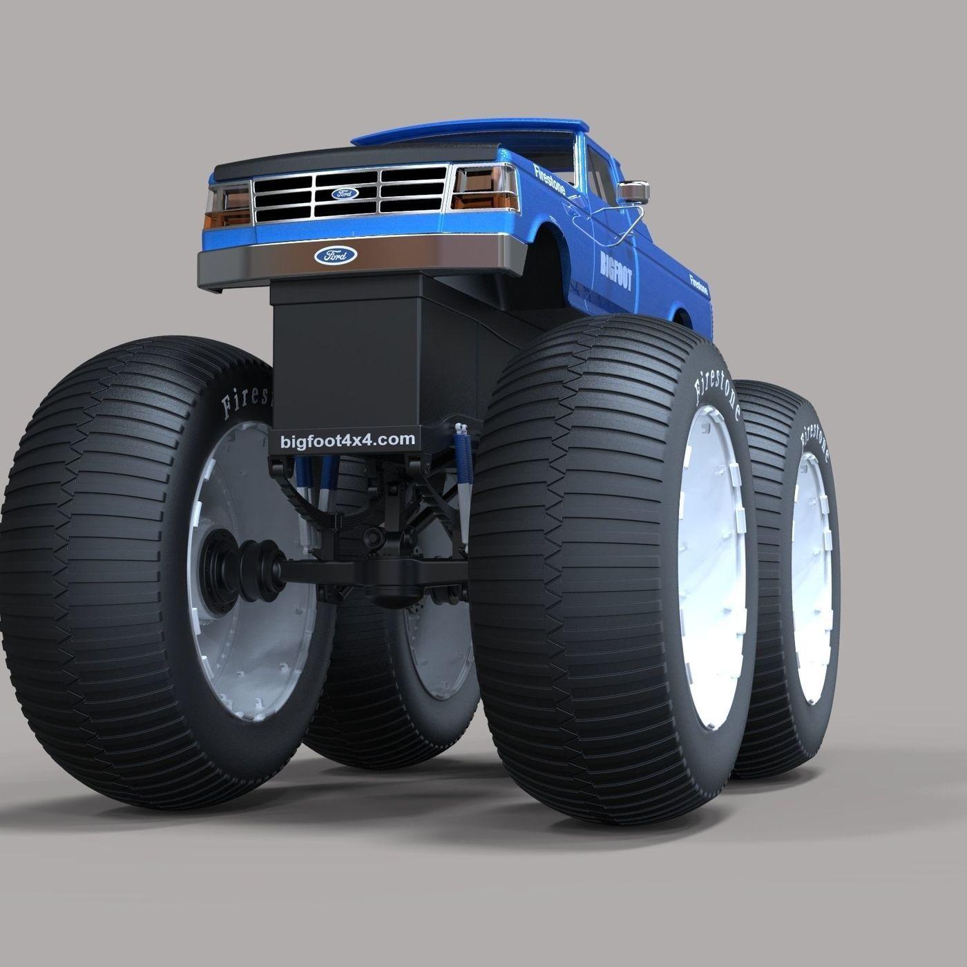 Bigfoot 5 Largest Monster Truck