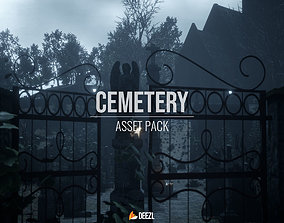 Cemetery Pack - Unity HDRP 3D asset