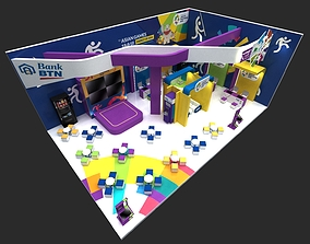 Booth 15x10 architectural 3D