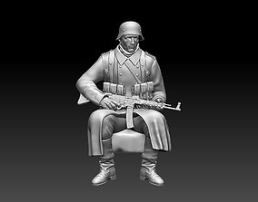German soldier war 3D print model