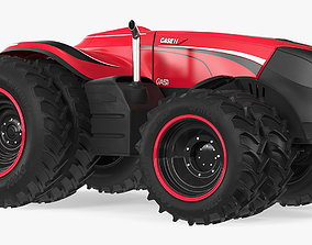 3D model Case IH Drone Tractor
