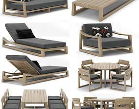 RH Outdoor Sebastian collection 3D