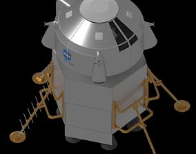 Boeing Human Lander System - Mid 2019 3D