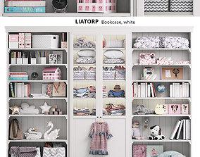 3D LIATORP ikea children Storage Bookcase