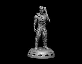 Car air freshener in the form of Schwarzenegger 3D 1