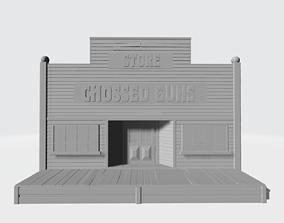 3D printable model Chossed gun store
