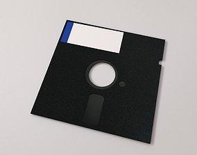 3D model Floppy Disk 5 quarter inch