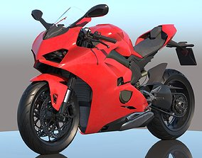 3D model PBR Ducati Panigale V4