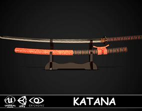 3D model Katana 03