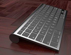 3D model Wireless Keyboard
