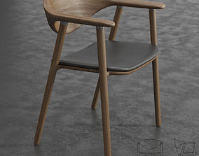 Artisan Naru Chair 3D model
