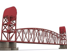 3D model Roosevelt Island Bridge