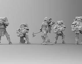 3D print model Knights of Roma - Devastation Brotherhood