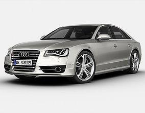 3D model Audi S8 2013