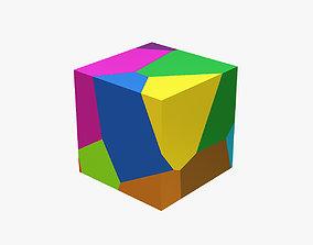 3D print model Broken square particles