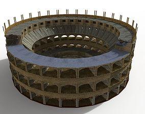 3D asset colosseum