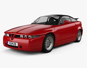 1990 Alfa Romeo SZ 1989 3D