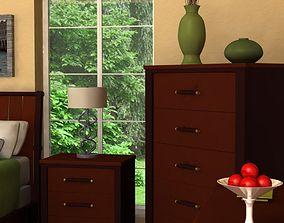 3D model Upscale Bedroom