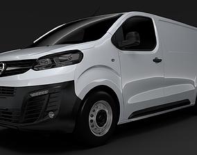3D model Opel Vivaro Van L3 2019