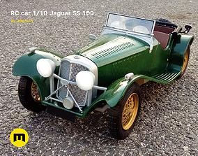 RC model Jaguar SS 100