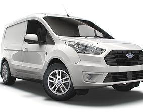 3D Ford Transit Connect Limited UK spec SWB 2020