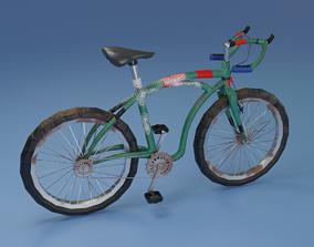 Bicycle LOW POLY BPR 3D asset