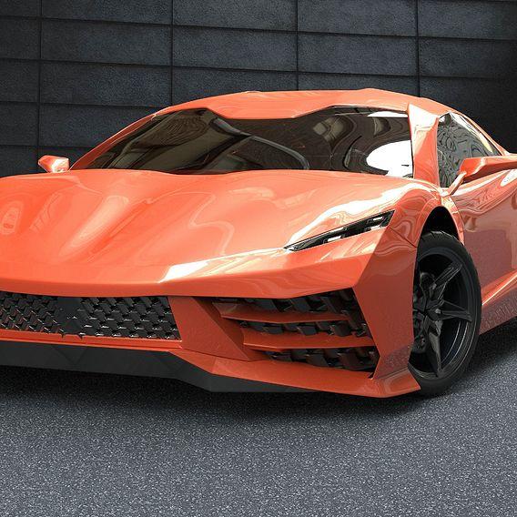 Car design Abai Sikumbaev 2019