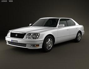Lexus LS XF20 1997 3D