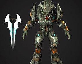 elite warrior 3D asset