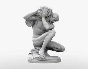 3D print model Atlas Statue