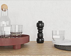3D asset Muuto Workshop coffee table